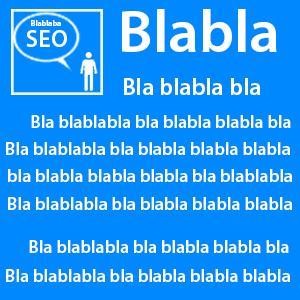 contenu web bla bla