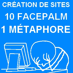 Facepalm création de sites